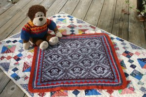 Sleepy Monkey Blanket by Mary Ann Stephens 2009
