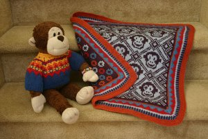 Sleepy Monkey Blanket
