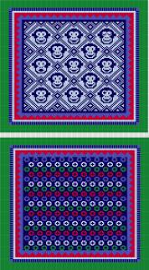 Navy, Shamrock, Pastel Blue, Red and Cornflower