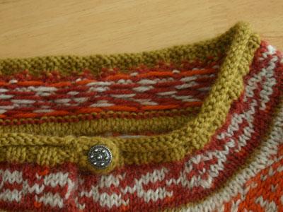 Tiger Lily Jacket neckline front