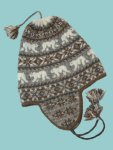 Polar Chullo by Mary Ann Stephens, on Winter '09 Twist Collective, a fair isle ear flap hat