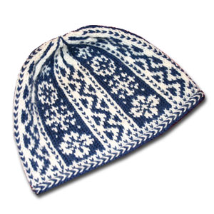 First Tracks Hat by Mary Ann Stephens