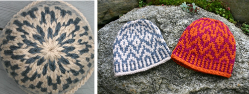 Supernova Hat knitting pattern by Mary Ann Stephens
