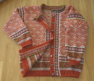 Tiger Lily Jacket by Mary Ann Stephens