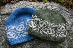 hat knitting pattern - macadamia