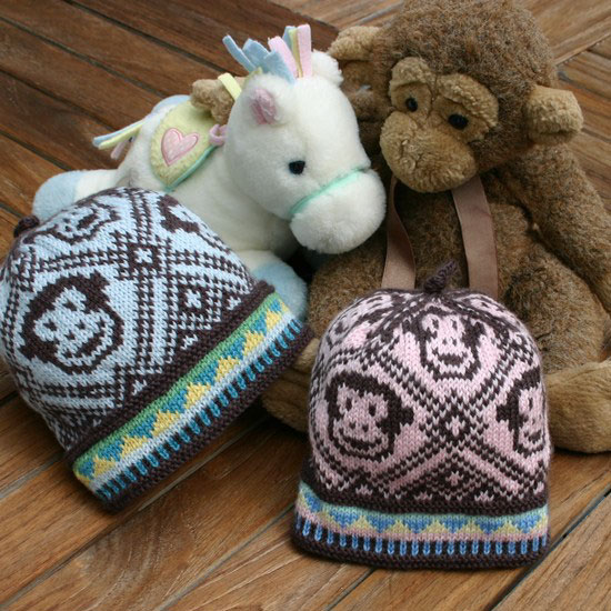 Knitting Pattern For Monkey Hat : Knitting Pattern PDFs Two Strands