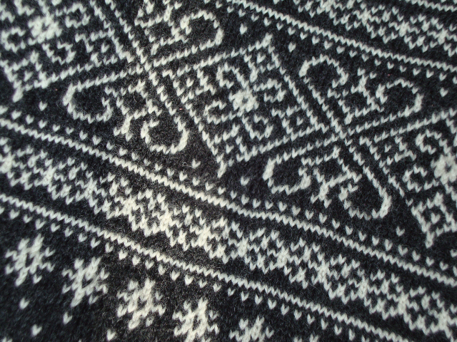 Sirdal design from Dale of Norway, knit in Heilo yarn by Karin
