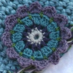 flower from free crochet pattern