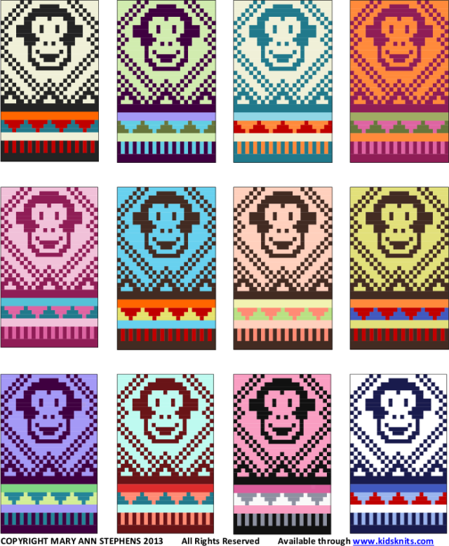 monkey hat colors