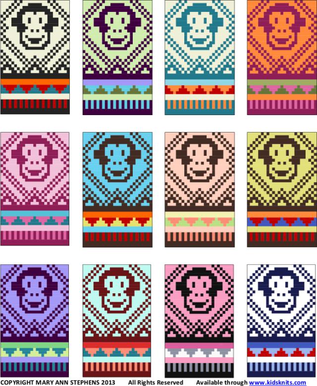 monkey hat colors