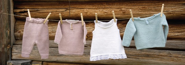 Basic baby clothes to knit