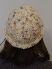 free knitting pattern for a quick and easy hat