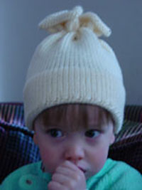 free knitting pattern for quick and easy hat in all sizes