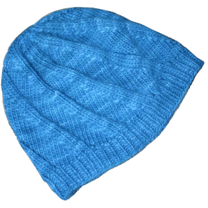 Free knitting pattern for the Twist and Sprout Hat by Mary Ann Stephens. Sized for the whole family!