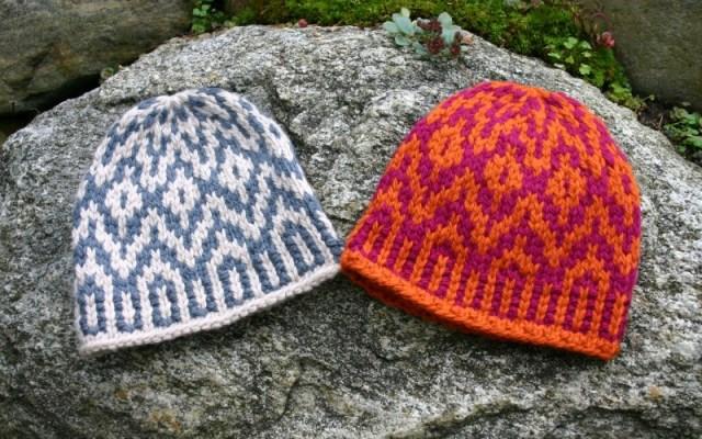 Supernova Hat, a Fair Isle / Norwegian knitting design by Mary Ann Stephens