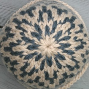 Supernova hat, seen from above.
