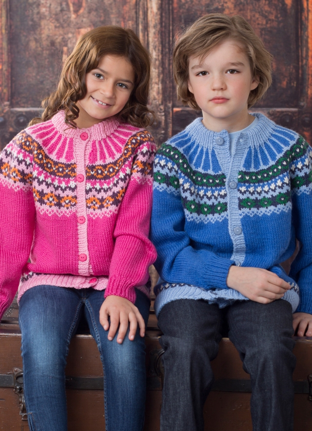 Norwegian cardis for kids from Dale Book 294