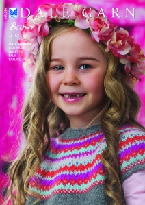 Knitting patterns for children from Dale Garn Book 294