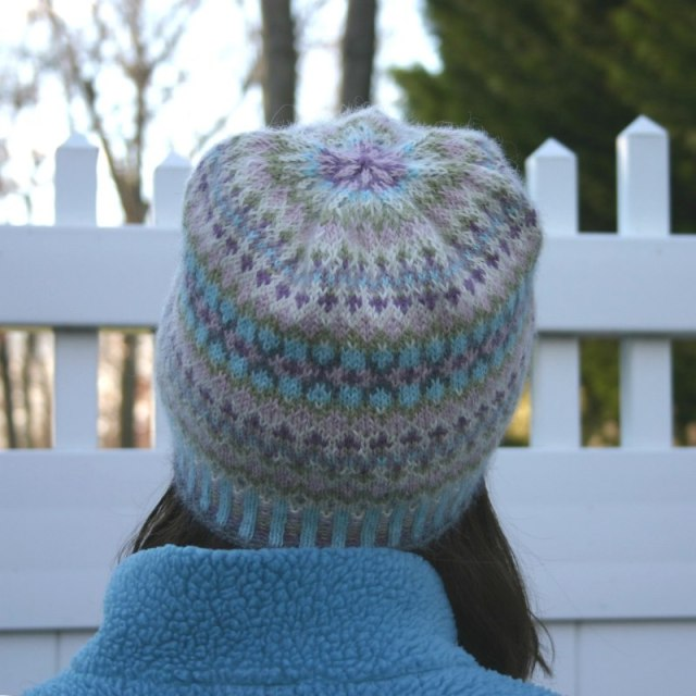 "Fair Isle hat design, ""Gentle Hat"""