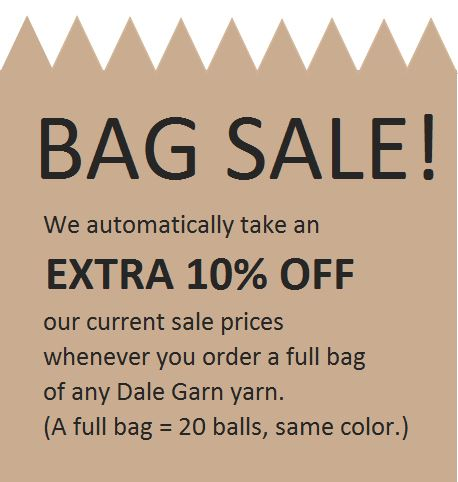 The Kidsknits.com Bag Sale is ON!!!