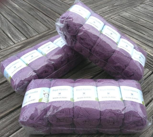 Dale Alpakka in Lilac 4435