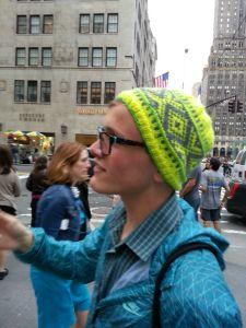 "norwegian / fair isle knit hat ""NY Nordic Hat"""