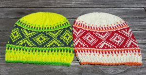 yarn colors for fair isle / norwegian knit hat NY Nordic Hat