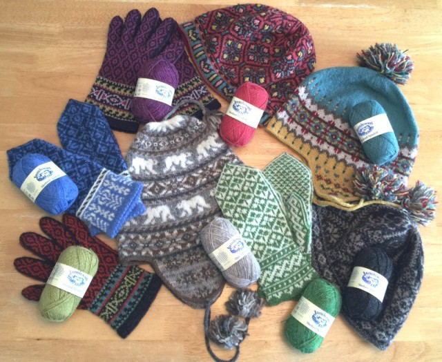 Fair Isle knitting kits