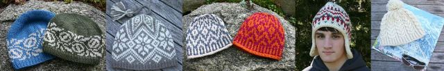 aran weight and super bulky weight hat knitting projects on sale