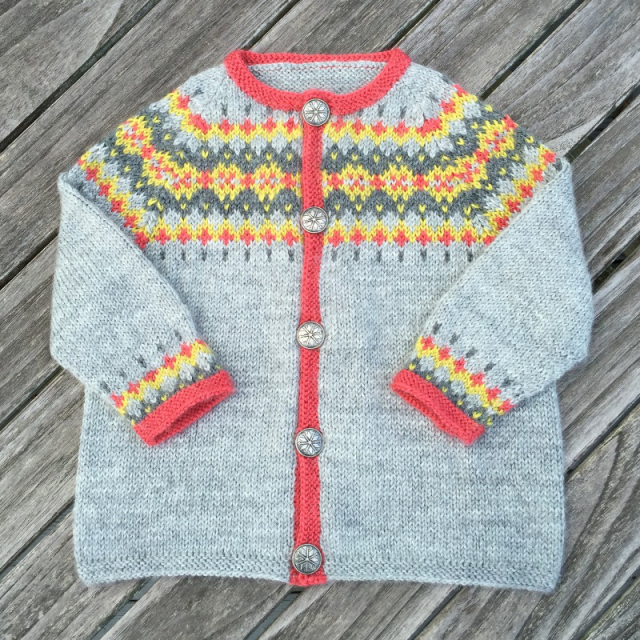 fair isle sweater for infants
